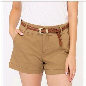 🆕Twill Khaki Chino Shorts